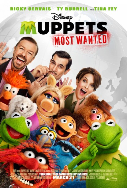 Muppets Most Wanted Movie Poster #Disney