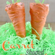 Cute Carrot Shaped Cupcakes
