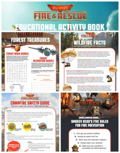 Disney Planes: Fire & Rescue | Fire Safety Educational Book - Free Printable