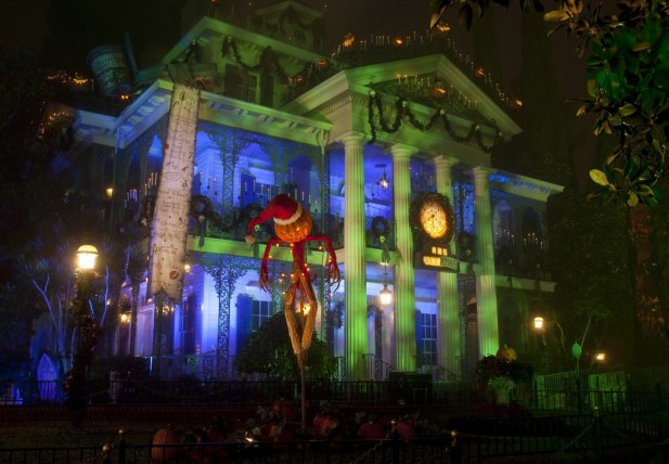 Haunted Mansion at Halloween Time at Disneyland