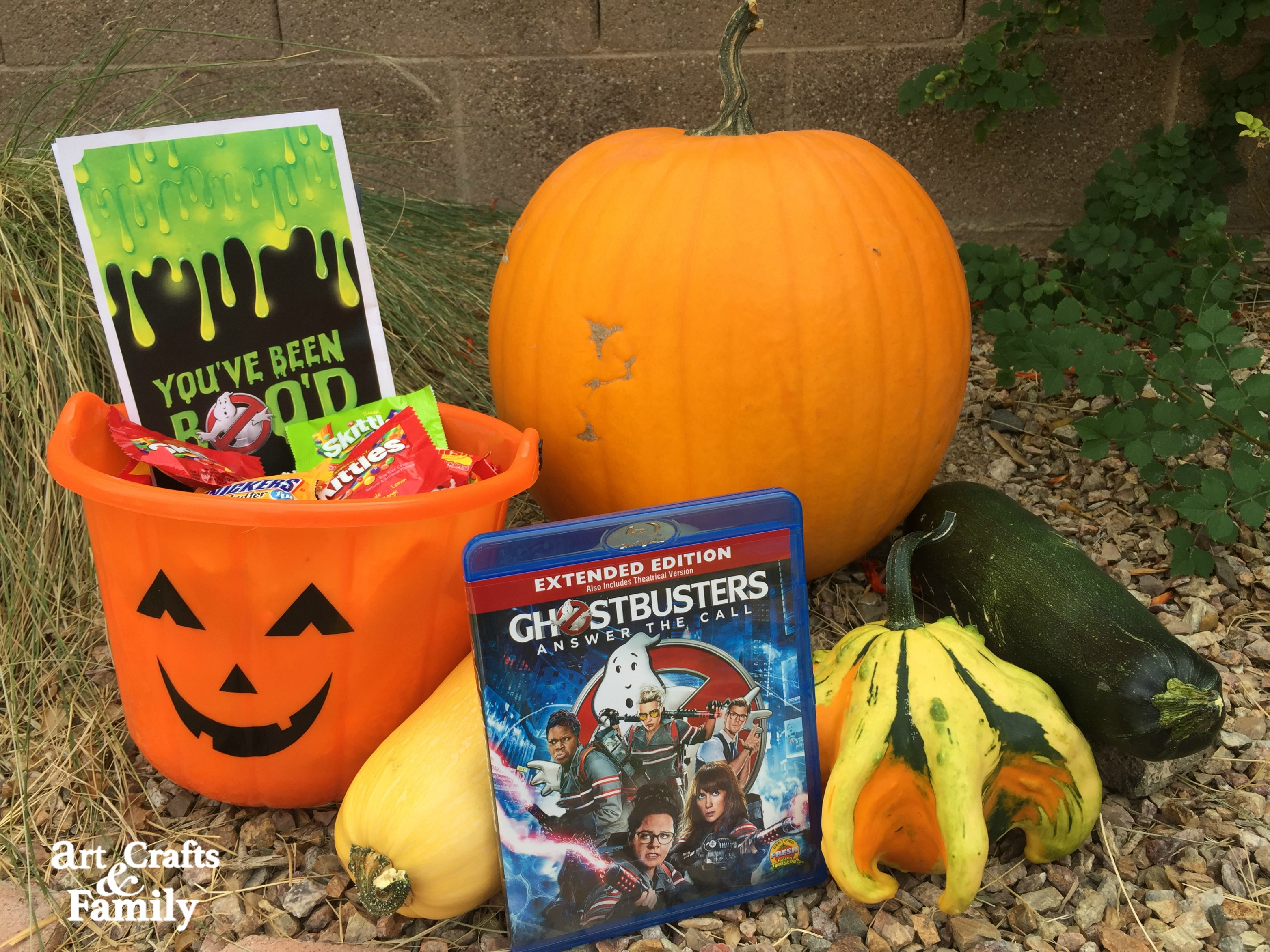 BOO someone by surprising them with a bundle of Halloween treats and good cheer.