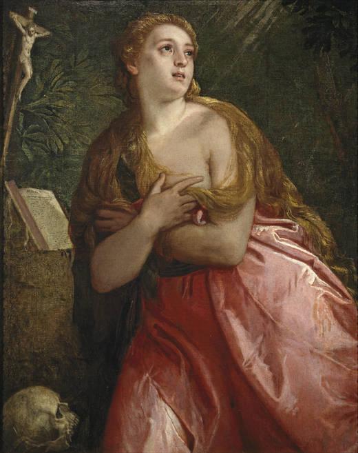 Veronés - Magdalena penitente