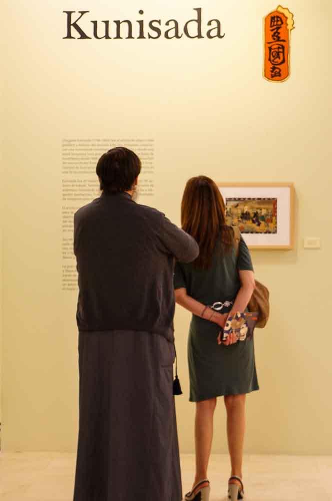 Utagawa Kunisada, el grabador mejor representado de la exposición