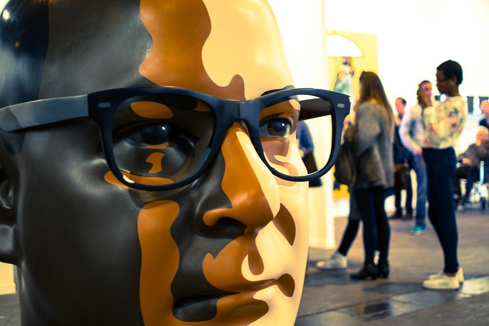 Julian Opie-esculturas-cabezas-ARCO 2015