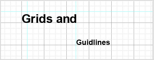 Not taking advantage of guides and grids