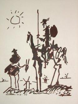 Small Of Picasso Don Quixote