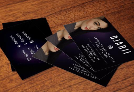 Business Card Design – Djarii