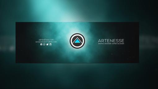 New Logo and Twitter Banner Design