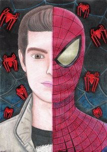 peter_parker__the_spider_man_by_andrecamilo18-d4p1s1e