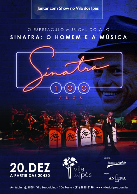 Cartaz - Sinatra - Show2