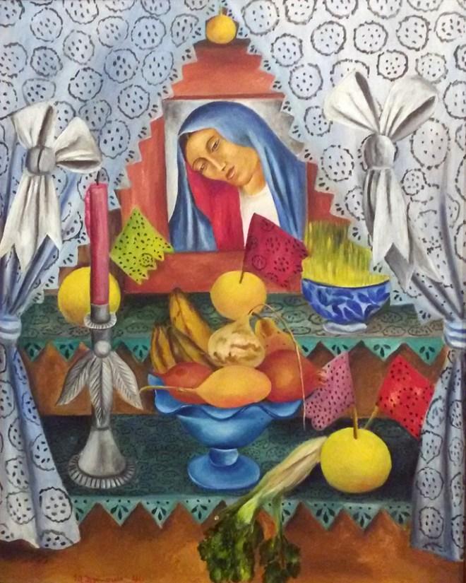 María Izquierdo - Altar de Madonna Dolorosa, 1946