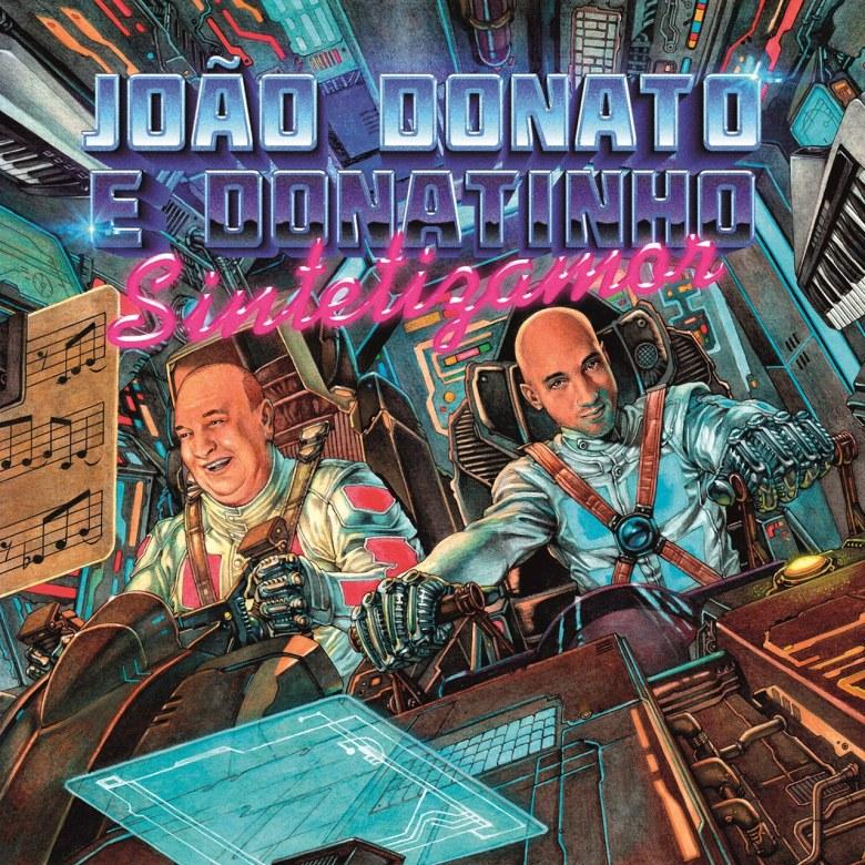João Donato e Donatinho - Sintetizamor (capa)