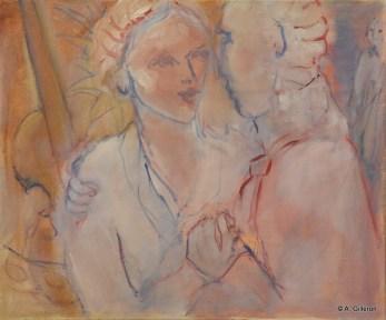 060 - Bal à Venise - 46 x 55 cm - 400 €