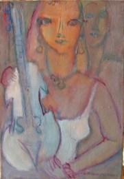 La violoniste 55 x 38,5 cm03