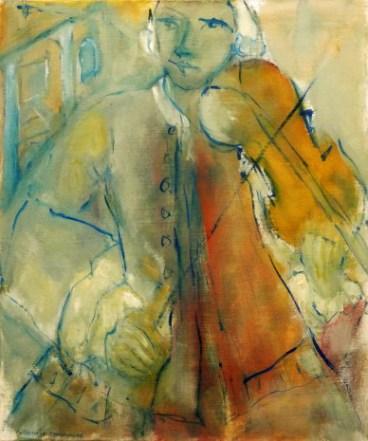 Mozart Vert 60 x 50 cm