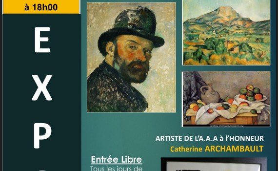 Arlette Gilleron Prod'homme exposition AAA Chilly Mazarin 28ème salon du petit format