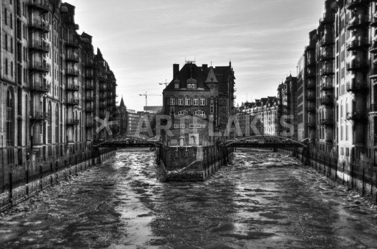 Hamburg Speicherstadt - Benyamon | Artflakes