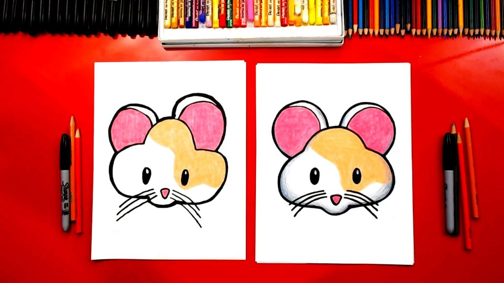 How To Draw How To Draw The Cute Hamster Emoji