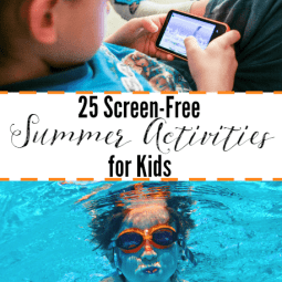 25 Screen-Free Summer Activities