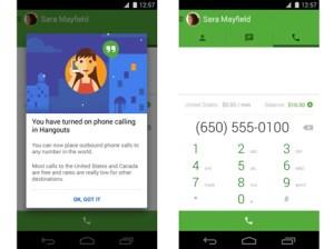 free voice calling google hangouts