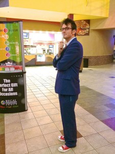 Tenth Doctor cosplay.
