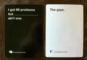 Cards Against Humanity combos