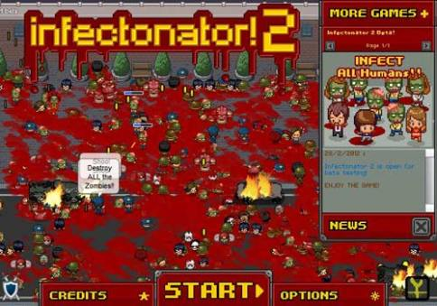 Free browser games: Infectonator 2