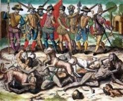 Christopher Columbus: Annihilation of indigenous population