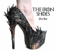The Iron Shoes Game of thrones inspired heels