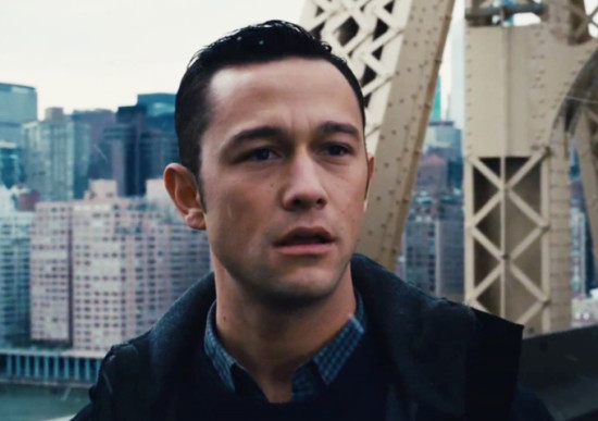 Joseph Gordon Levitt in The Dark Knight Rises
