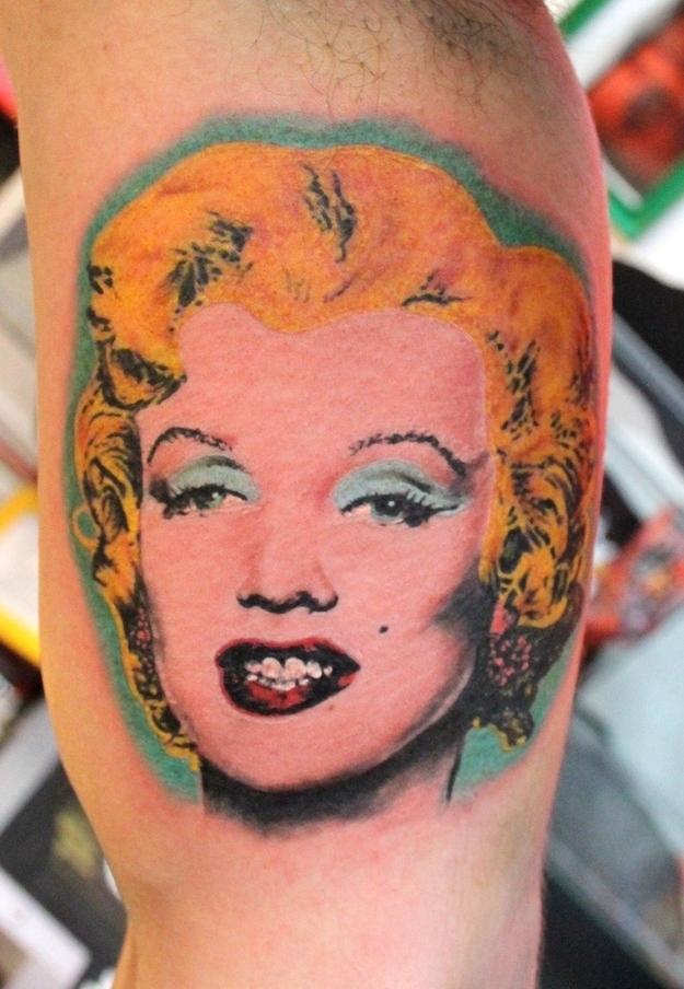 Tattoo, Marilyn by Andy Warhol