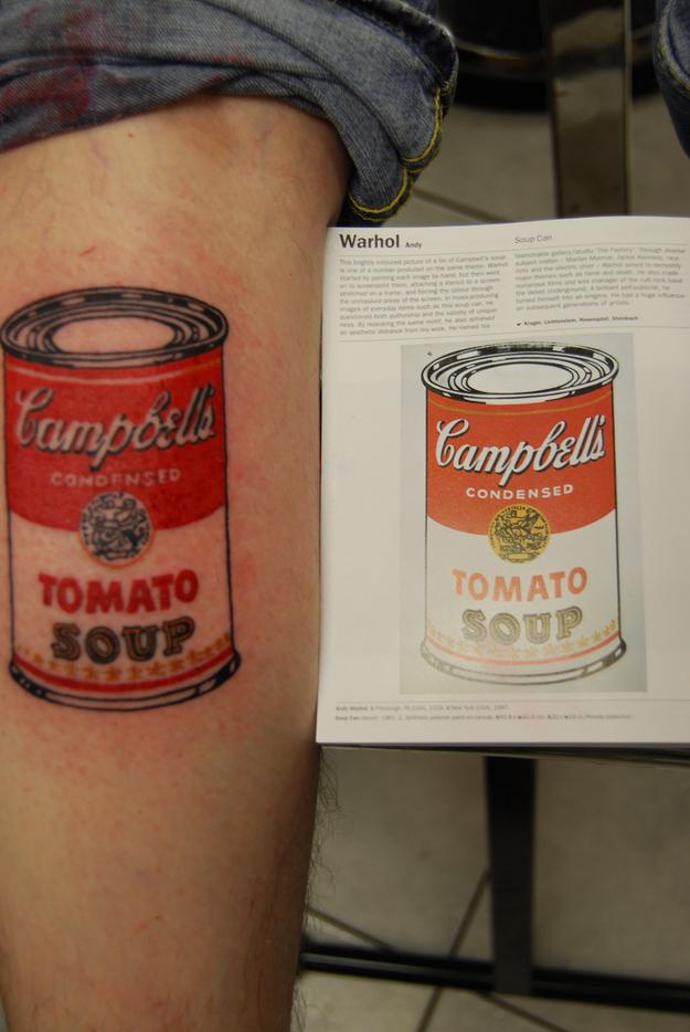 tattoo, Tomato Soup