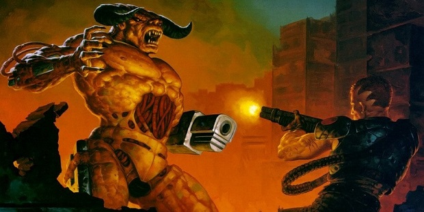 Doom 2 cover art