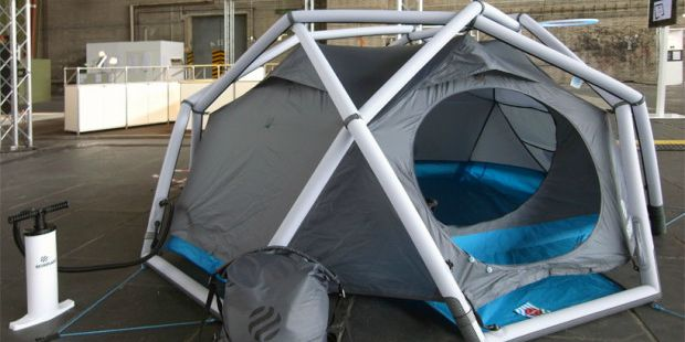 cave tent & Anyone Will Enjoy Camping with This High Tech Camping Gear Article ...