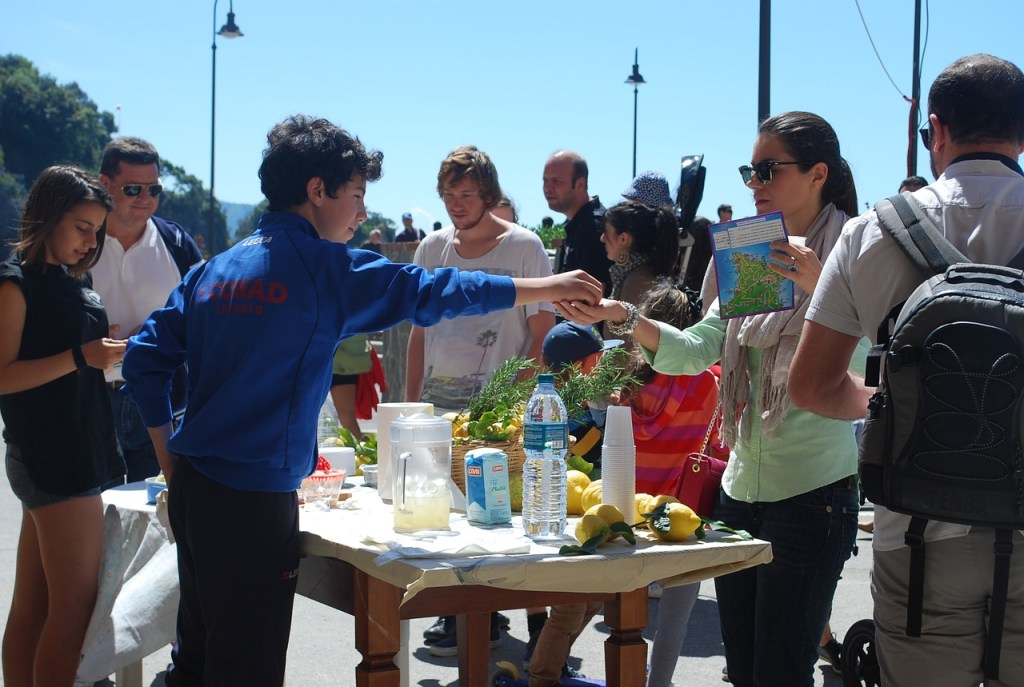 Lemonade Day: Support your local lemonade stand; fundraising lemonde stand