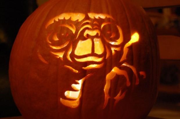 E.T. pumpkin