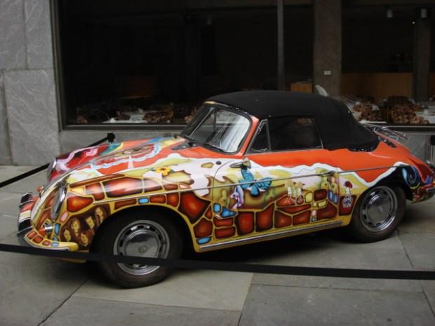 Janis_Joplin's_Porsche_356_convertible