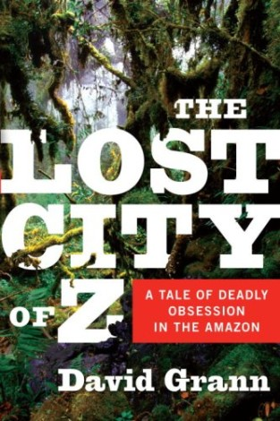 Lost City of Z cover