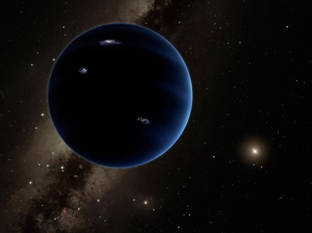 Planet Nine artists concept