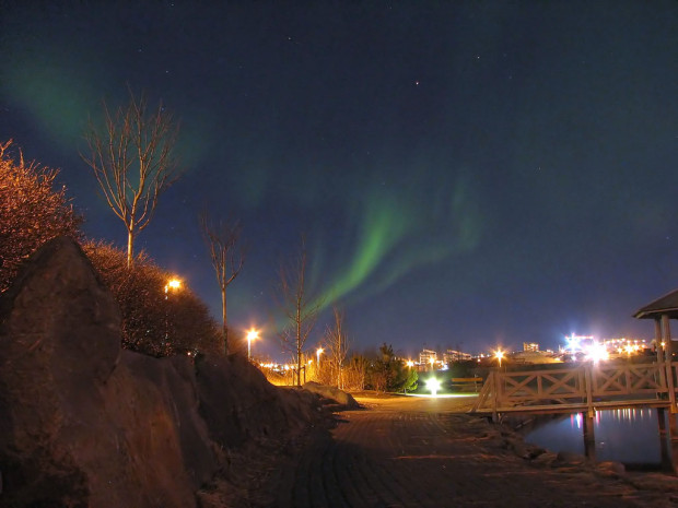 strange natural phenomenon: The Northern Lights