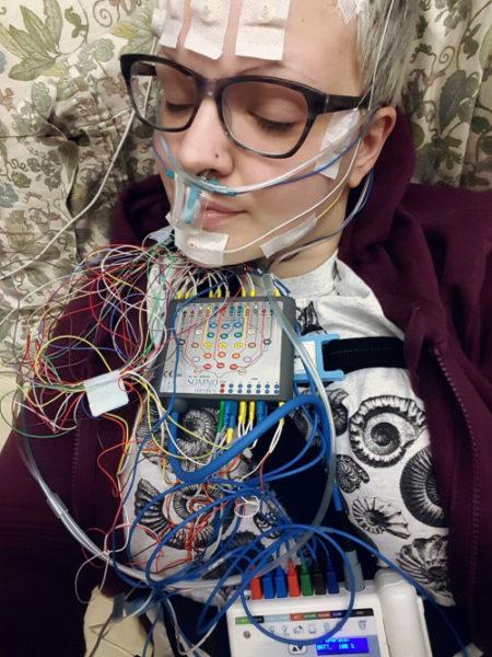 HospitalGlam electroencephaloglam
