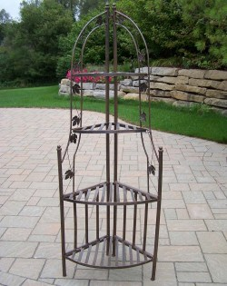 Small Of Wrought Iron Plant Stands