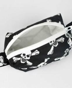 Pochette Box - Têtes de mort (angle - ouvert)