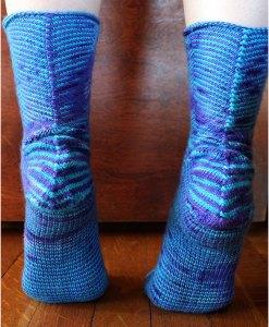 Patron de tricot - Bas Celestial socks - À la maille suivante (02)