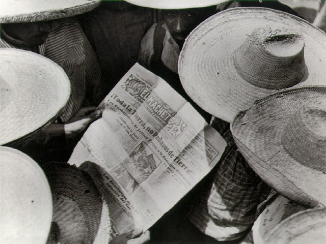 Tina Modotti, Mexican peasants reading El Machete, 1928, © The Estate of Tina Modotti