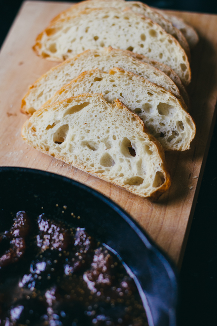 bruschetta with fig compote | bread in 5
