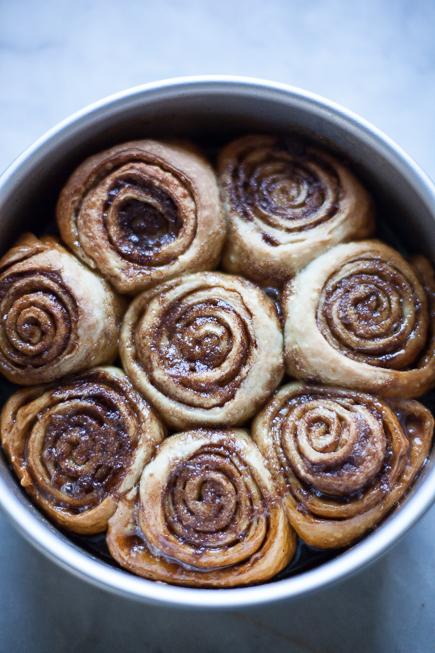 caramel rolls bread pudding | Breadin5 (6 of 8)