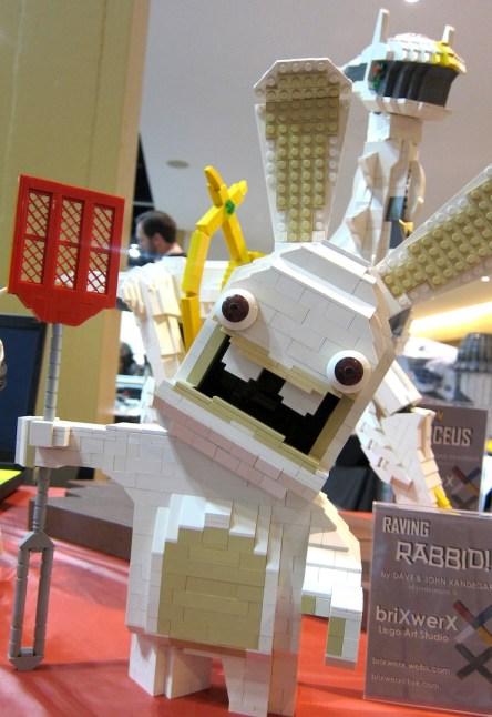 Silly Rabbit Legos