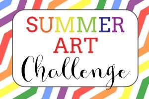 summer art challenge
