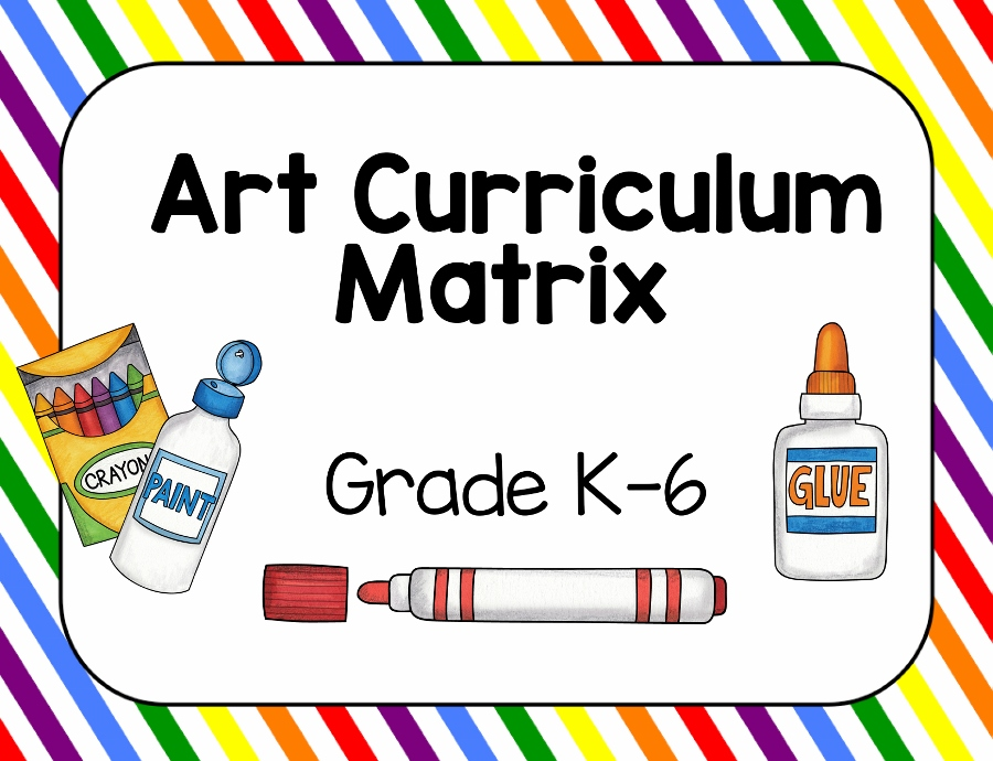 Art Curriculum Template and Guide